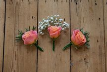 Buttonholes / Boutonnieres for Grooms / Grooms need not be left out, stylish flowers to match any suit
