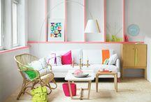 Pink / Pink decor ideas.