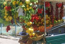 Sicilia - Sicily - fresh fruits and vegs- street sale