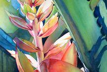 ART( LEAVES & PLANTS 2) / by Karen Baker