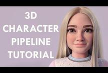 3D human topology