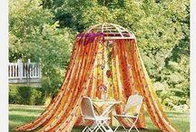 Himmelbett für Garten