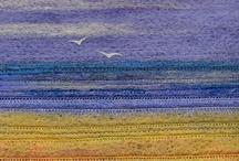 Текстильные пейзажи