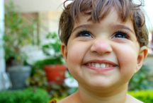 Children and life  / Beautiful children with sparkling eyes , very cute kids