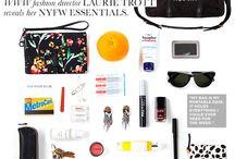 Carry on and handbag essentials