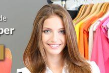 Curso de Personal Shopper - Vanluy Models & Events / El personal shopper es una figura profesional que nace en Nueva York en la década de los 90. Su misión principal se centra en ayudar a sus clientes a elegir y comprar artículos de moda. Reservas http://vanluymodels.com/cursos/curso-de-personal-shopper/