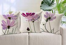cojines flores secuencia