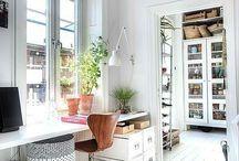 White Floors walls