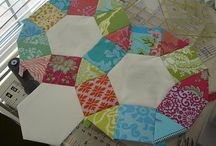 Paper Piecing / English Paper Piecing inspiration