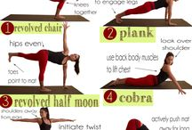 At home yoga moves