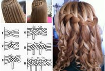 hairstyles/clothing