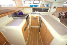 Leopard 47 / 47 ft Sailing Catamaran, perfect for 8 passengers, 4 double cabins. 4 bathrooms.