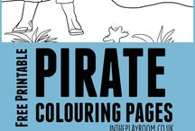 Colouring pages and printables