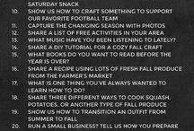 Blog Posts Idea