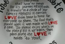 Plates -Family&Friends