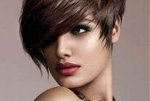 Kort hårs frisurer