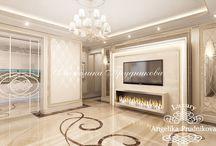 Дизайн интерьера маленькой квартиры в стиле Ар Деко в Москве / Во главе проекта дизайна интерьера взят стиль Ар Деко. Маленькая квартира в Москве имеет относительно просторную гостиную, две спальни, детскую и кухню. В интерьере преобладают  светлые и мягкие цвета. Такое цветовое решение создаёт атмосферу спокойствия, тепла и уюта. Такая квартира идеально подойдёт для супружеской пары с детьми.