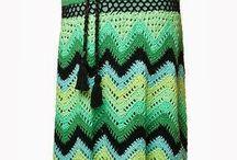 Vestidos 2 crochet