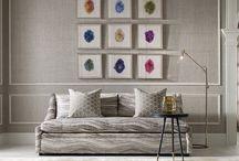 Kravet: новые коллекции тканей в сотрудничестве с именитыми дизайнерами. / Дизайн декоративных тканей бренда Kravet разнообразен настолько, насколько индивидуально творчество художников, в содружестве с которыми работает компания Kravet Inc. Это особенно заметно, когда знакомишься с коллекциями этого года, существенно разнообразившими ассортимент интерьерных и обивочных тканей от Kravet.