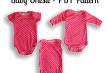Onsie and Singlet Patterns for Babies
