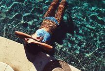 Pool photoshoot