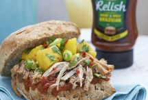Branston Relish Recipes / I have created a recipe to complement each flavour in the Branston Relish range. We hope you enjoy creating these delicious recipes at home!  http://www.bringoutthebranston.co.uk/andy-bates-branston-relish-recipes/