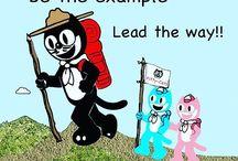 Kit Cat Cartoons
