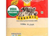Buy Online 24 Mantra Organic Corn Flour (Maize Atta) from USA