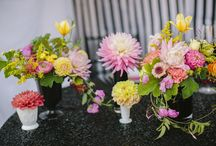 AT THE CENTRE- TABLE FLOWERS
