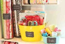 Craft Room Organization / by Debbie Gregson Hayes