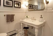 a tub to soak in / comforts of the bathroom ... i dig taking a bath