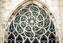 Gothic architectural details