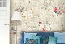 paredes con diarios