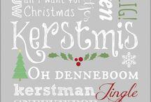 Teksten kerst