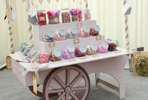 Styling ideas : candy carts