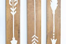 Wooden art babykamer