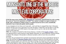 No More Monsanto / by Jenny Doerr Horstman