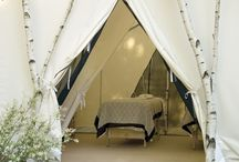 Reflexology therapy tent