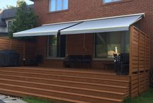 Awnings, Tents and Gazebos / Beautiful and practical awnings, tents and fabric gazebos.