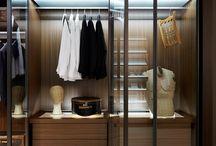 Interior: closet