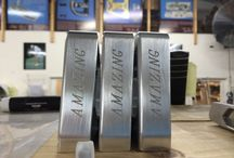 Putter Pieces / A look into the bits and pieces we use to assemble Bobby Grace Putters right here in the USA!