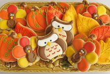 Cookies - Thanksgiving Cookies