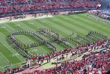 """Our Honor Defend We Will Fight To The End For OHIO!!! / """"In old Ohio (Columbus) theres a team thats known throughout the land, Eleven warriors brave and bold whose fame will ever stand, And when the ball goes over our cheers will reach the sky, Ohio field will hear The Buckeye Battle Cry. Drive, drive on down that field men of scarlet and grey, dont let them through that like weve got to win this game today, COME ON OHIO, Smash through to victory, we cheer you as you go, our honor defend we will fight to the end FOR OHIO!"""" OSU Fight Song"""