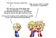 Scandinavia comic