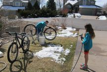 Bike maintenance / How kids can take care of their bikes and basic maintenance.