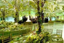 Green, emerald & chartreuse Decor / by Shaadi Bazaar