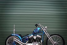 cool design on motorcycle