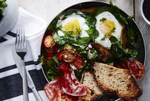 Breakfast/Brunch / Awesome recipes for starting your day off right, with local food of course:)
