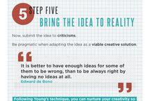 Creativity / Enhancing and using your creativity