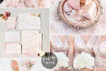Rose Gold & Light Pink Wedding Ideas